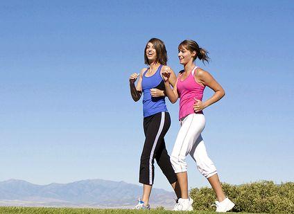 Ходьба для похудения должно быть свободным