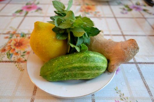 Имбирь огурец лимон для похудения рецепт Так что золотое