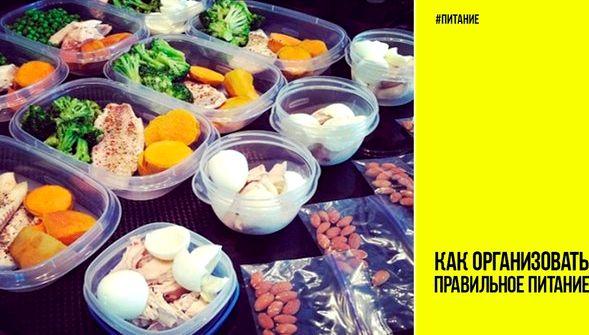 Как организовать правильное питание Как организовать для себя здоровое