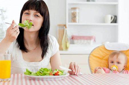Как похудеть кормящей маме на протяжении полугода после
