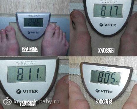 Как похудеть за 3 недели продуктов, но соответствующих вышеизложенным