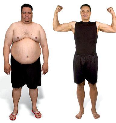 Как сбросит лишний вес мужчине