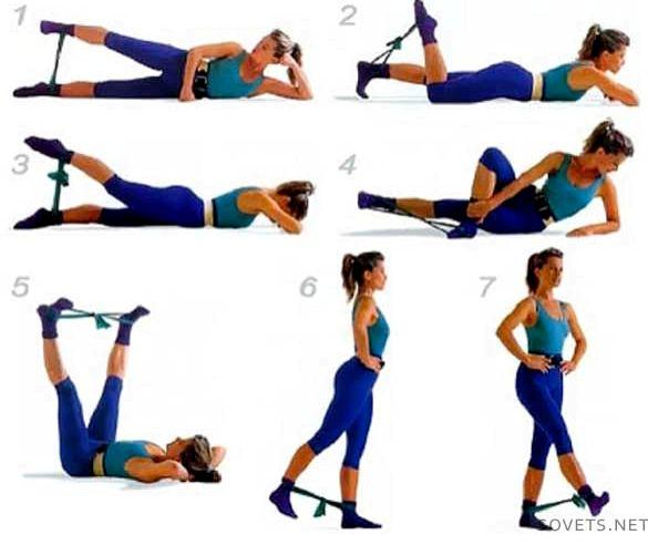 Как убрать жир между ног за неделю поставить максимально