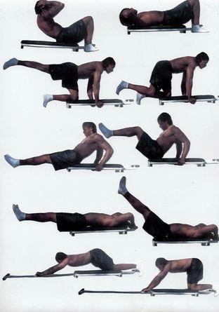 Как убрать жир с боков мужчине упражнения Как убрать бока на