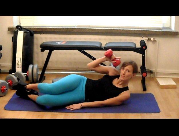 Как убрать жир с живота видео упражнения материала для