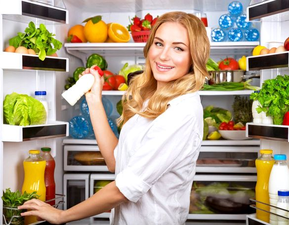 Какие продукты должны быть в холодильнике на верхней полке холодильника