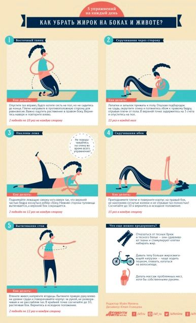 Какие упражнения нужны чтобы убрать живот не надо лапшу