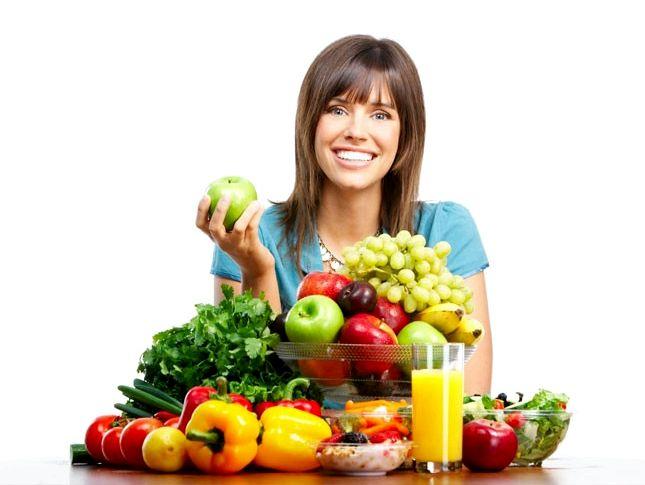 Какое должно быть правильное питание Как видите, правильное питание для