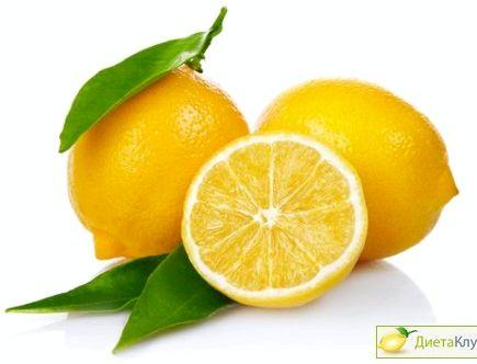 Лимон для похудения Результат похудения будет, причем хороший