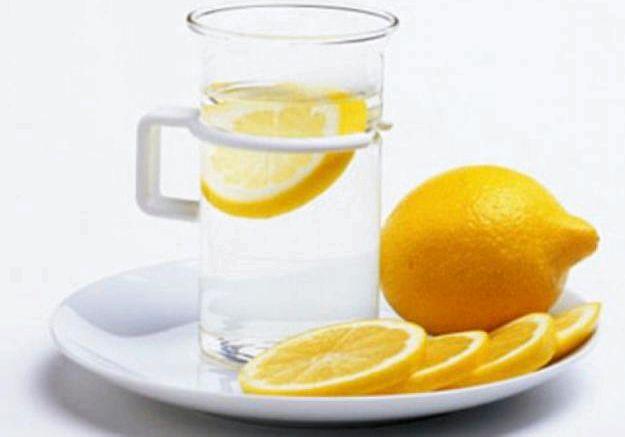 Лимон для похудения утром натощак, примерно
