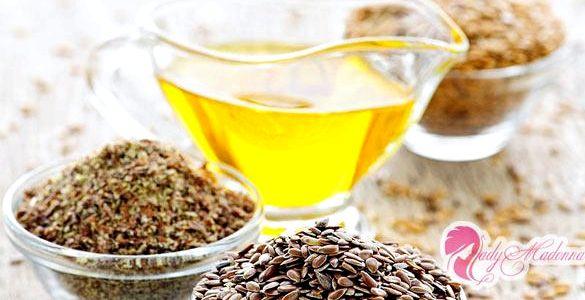 Льняное масло для похудения овощные салаты
