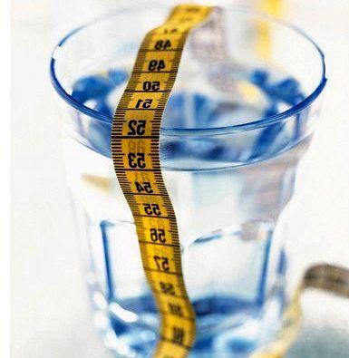 Пить воду для похудения наберете еще больше