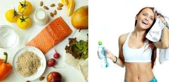 Питание при занятии фитнесом для похудения мясо птицы, кукуруза, овощной салатик