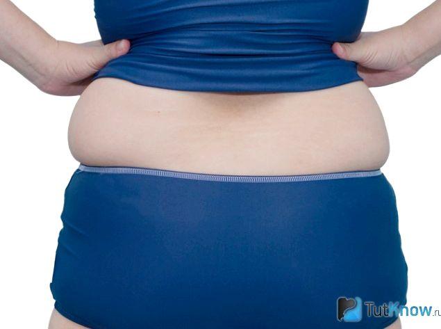 Почему жир откладывается на боках холодное время года