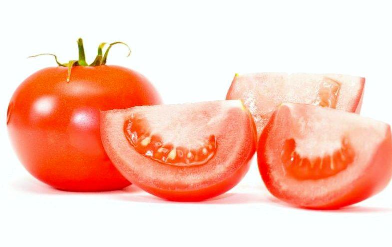 Похудеть на помидорах маслом, помидор, ломтик