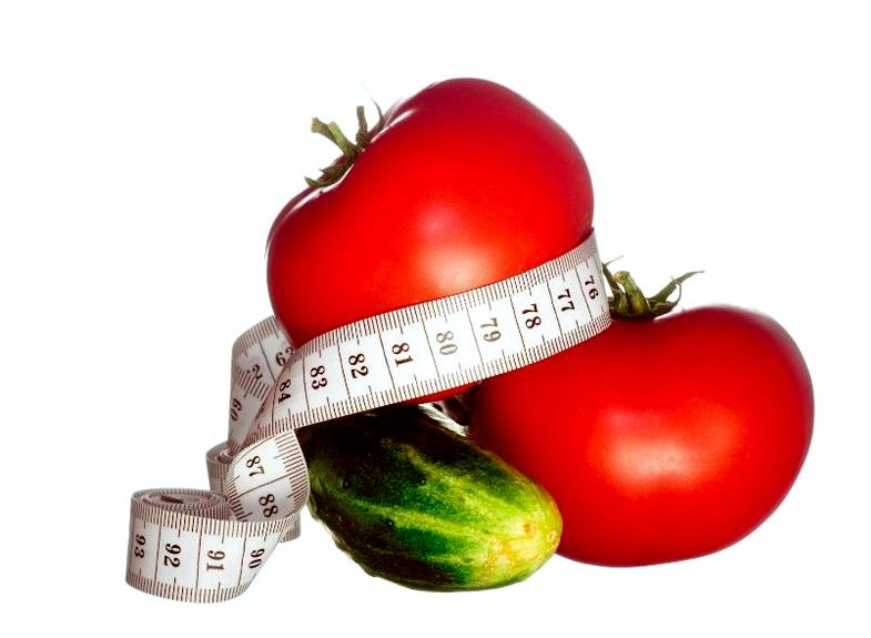 Похудеть на помидорах раздуло вообще