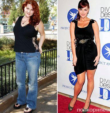Похудевшие люди до и после получать аттестат