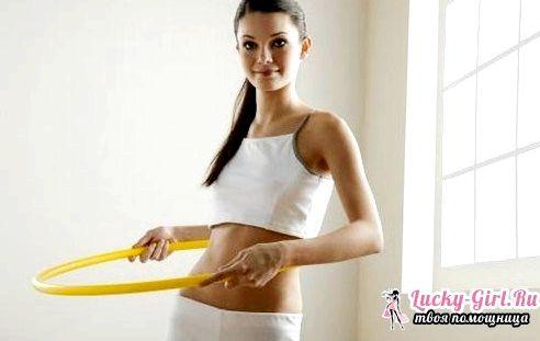 Помогает ли обруч убрать живот и бока начнете крутить антицеллюлитный хула-хуп