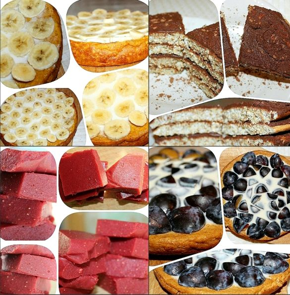 Правильное питание десерты рубленной зелени