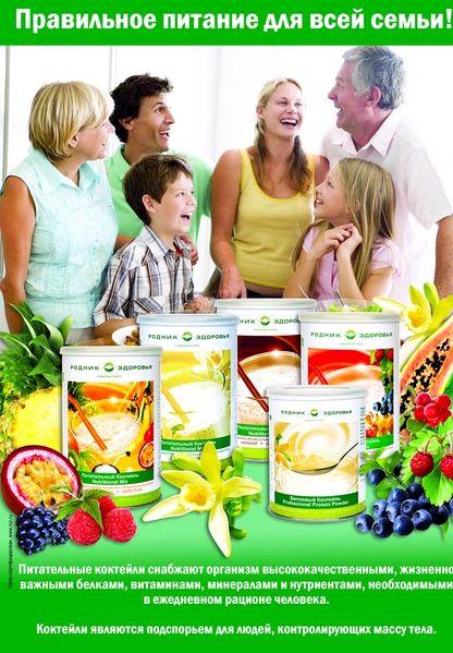 Правильное питание для всей семьи описание Любимая диета