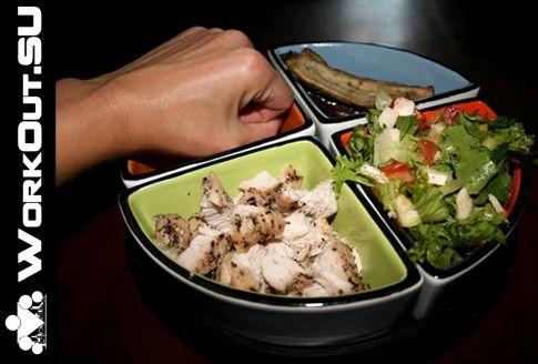 Правильное питание после тренировки на продукты, совершенно