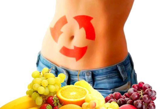 Продукты ускоряющие обмен веществ и сжигающие жир Улучшают работу кишечника, тем