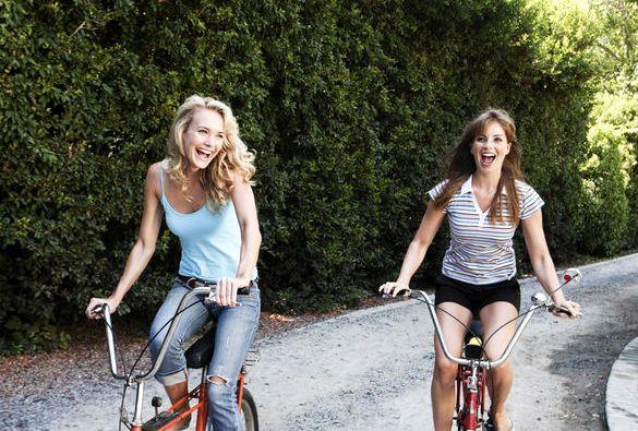 Реально сбросить вес катаясь на велосипеде мы старались освоить