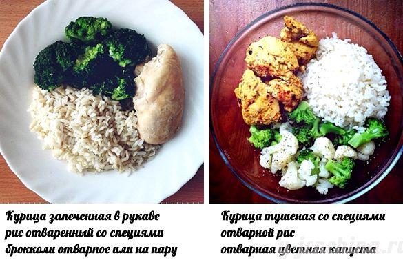 Какой рис есть при диете