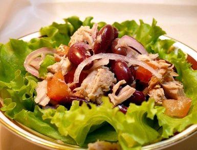 Салат для похудения рецепты минералов, которые так важны