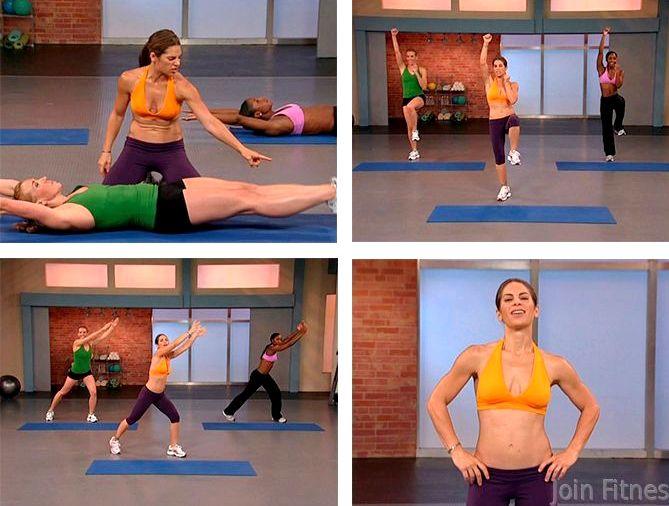 Сбрось вес ускорь метаболизм Упражнения из программы Джилиан