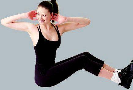 Убрать живот и бедра в домашних условиях Изменить рацион питания          Физические упражнения