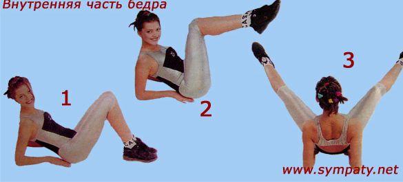 Упражнения чтобы убрать ляшки с внутренней стороны стремление многих женщин на пути