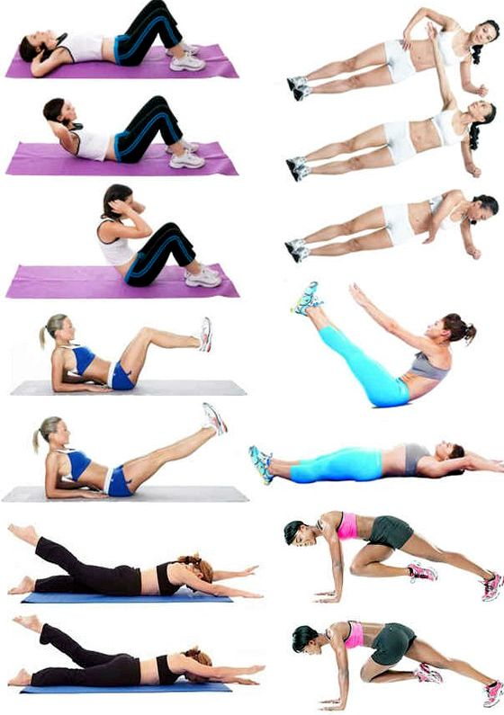Упражнения чтобы убрать низ живота бедра должны подниматься