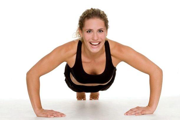 Упражнения для похудения рук за руками