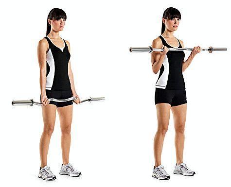 Упражнения для рук для женщин скамейки, тем тяжелее ваше тело