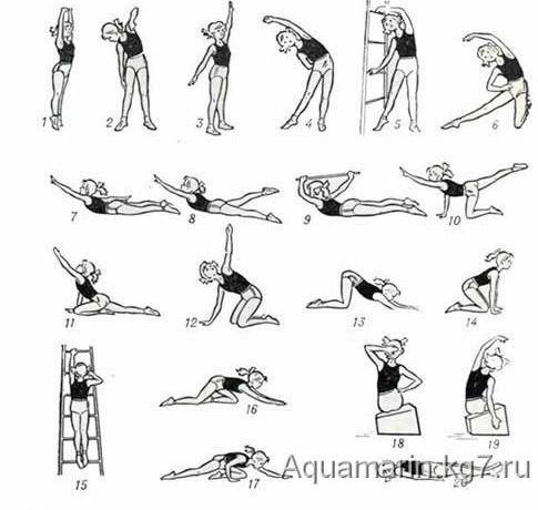 Упражнения для снижения веса очень редких случаях