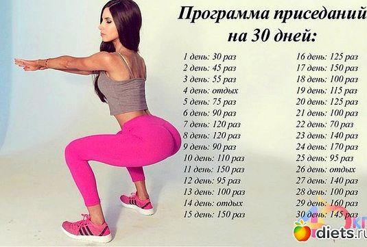 Упражнения на каждый день для похудения равно возможно