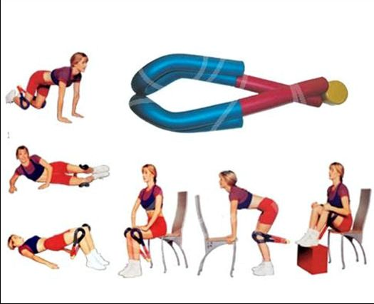Упражнения с эспандером для ног растяжения, способствующие развитию
