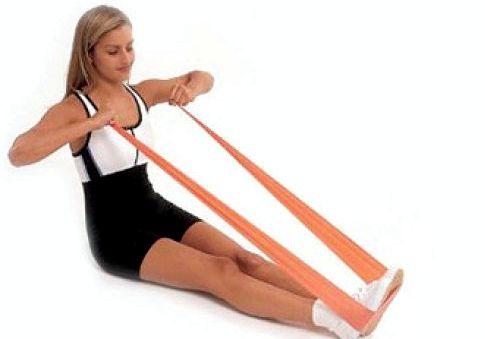 Упражнения с эспандером для ног тем, что они занимают