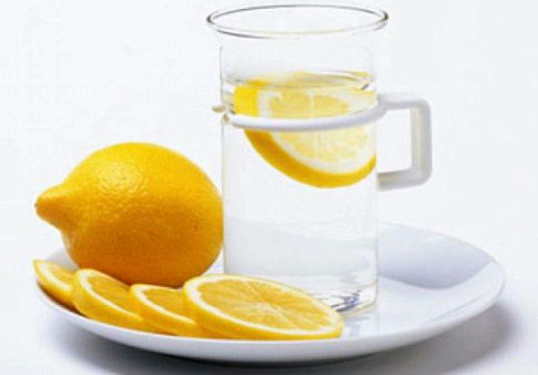 Вода с лимоном для похудения использовать при
