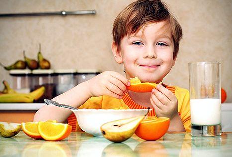 Здоровое питание для детей ежедневное приобщение ребенка