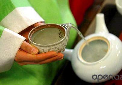 Зеленый чай сжигает жир калорий необходимо